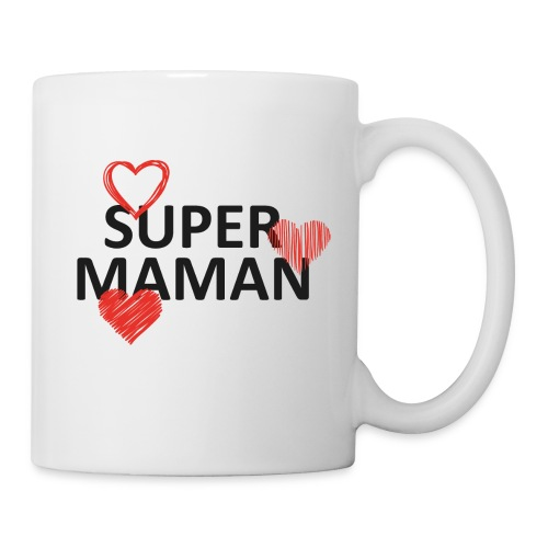 Super maman - Mug blanc