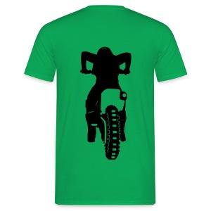 Motocross Start Flock HQ - Männer T-Shirt