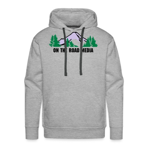 On The Road Media - Mountain Hoodie - Male - Men's Premium Hoodie