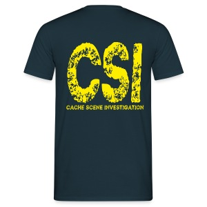 Cache Scene Investigation - Men's T-Shirt