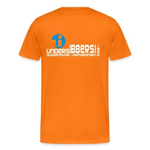 GuMu Shirt - Herren - Orange - Männer Premium T-Shirt