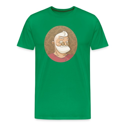 santa hipster - T-shirt Premium Homme