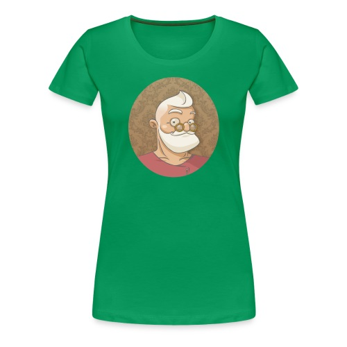 santa hipster - T-shirt Premium Femme