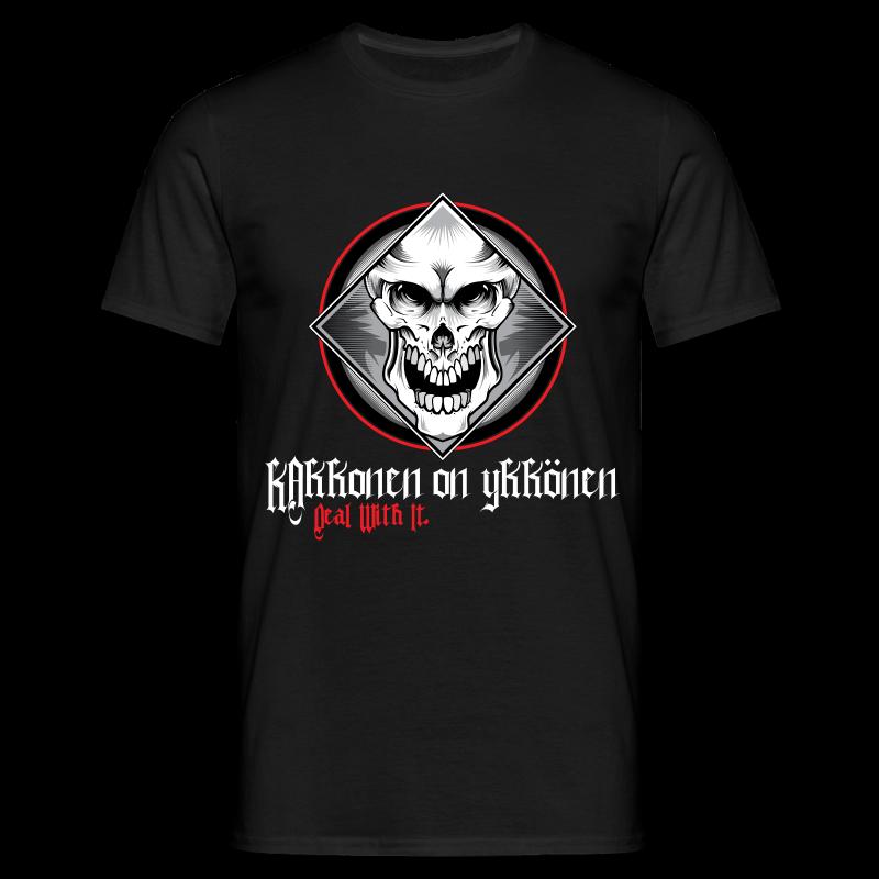 2on1 The Skull t-paita - NEW DESIGN! - Miesten t-paita
