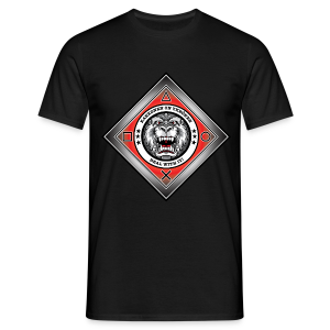 2on1 ry t-paita, logo rinnassa - Miesten t-paita