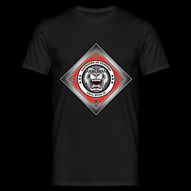 2on1 ry t-paita, logo rinnassa