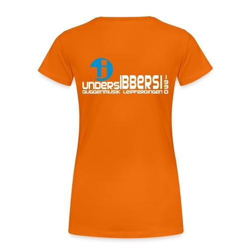 GuMu Shirt - Frauen - Orange - Frauen Premium T-Shirt