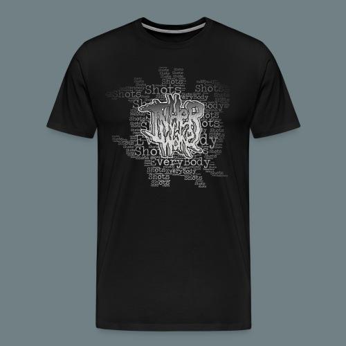 Inherwake Shots Logo T-shirt - Men's Premium T-Shirt