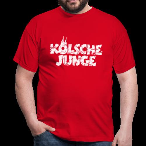 Kölsche Junge (Vintage Weiß) Köln T-Shirt - Männer T-Shirt