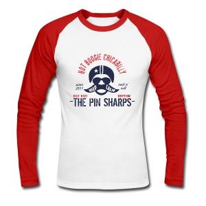 Hot Rod men red - Männer Baseballshirt langarm