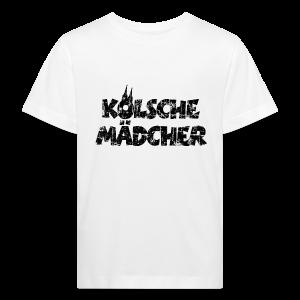 Kölsche Mädcher (Vintage Schwarz) Kinder Bio T-Shirt - Kinder Bio-T-Shirt