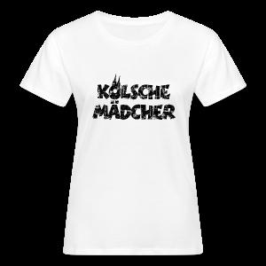 Kölsche Mädcher (Vintage Schwarz) Bio T-Shirt - Frauen Bio-T-Shirt