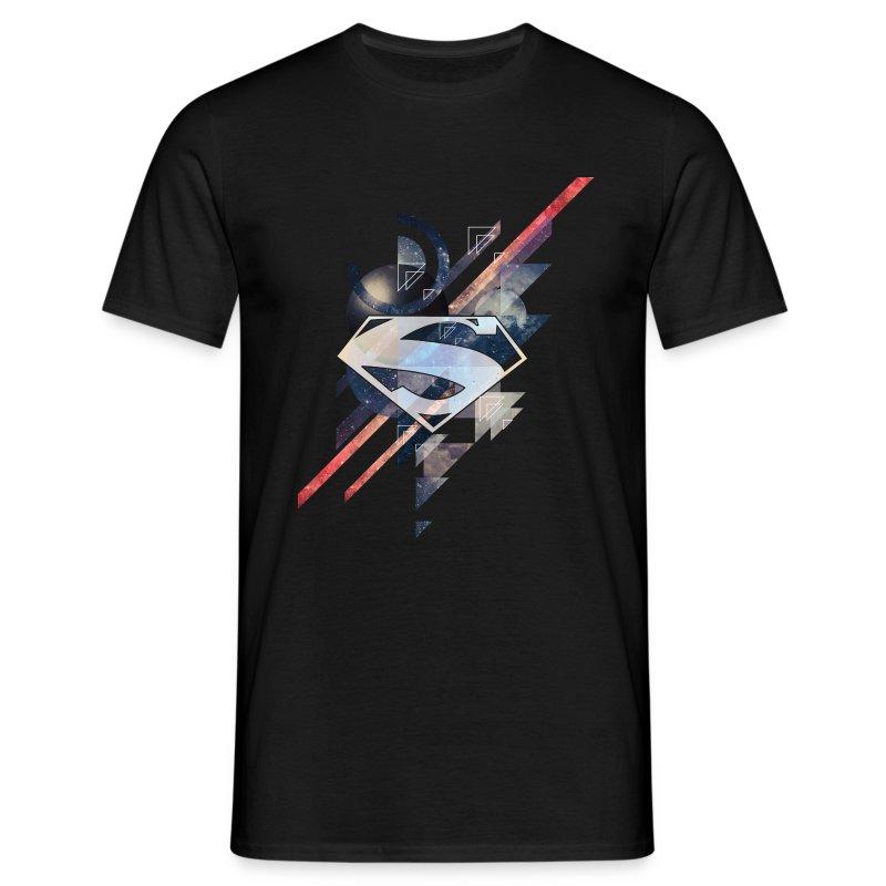 T-shirt Superman Logo Galaxy Tee shirt Homme   Spreadshirt