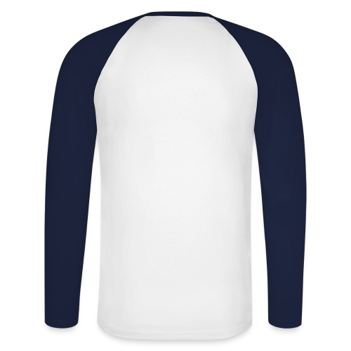 Euro Talk: Långärmad t-shirt - Långärmad basebolltröja herr