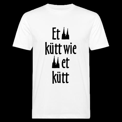 Et kütt wie et kütt O.Z. (Schwarz) Köln T-Shirt - Männer Bio-T-Shirt