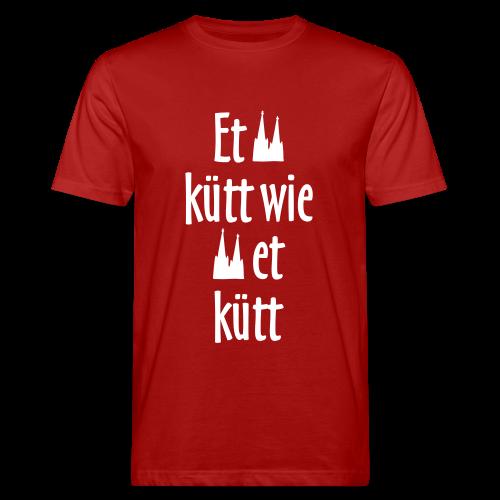 Et kütt wie et kütt O.Z. (Weiß) Bio T-Shirt - Männer Bio-T-Shirt