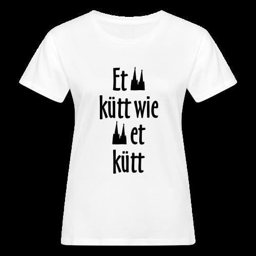 Et kütt wie et kütt O.Z. (Schwarz) Bio T-Shirt - Frauen Bio-T-Shirt