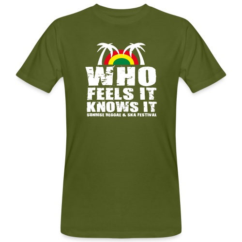 Sunrise Festival Shirt Men organic 2015 - Männer Bio-T-Shirt