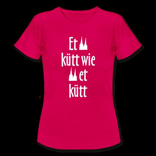Et kütt wie et kütt O.Z. (Weiß) Köln T-Shirt - Frauen T-Shirt