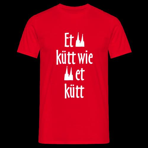 Et kütt wie et kütt O.Z. (Weiß) Köln T-Shirt - Männer T-Shirt
