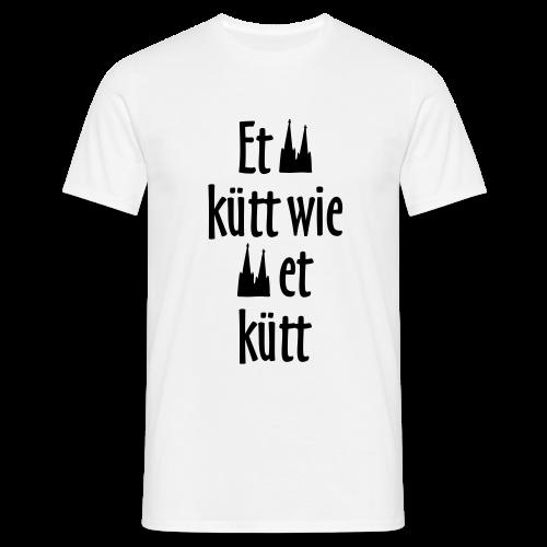 Et kütt wie et kütt O.Z. (Schwarz) Köln T-Shirt - Männer T-Shirt