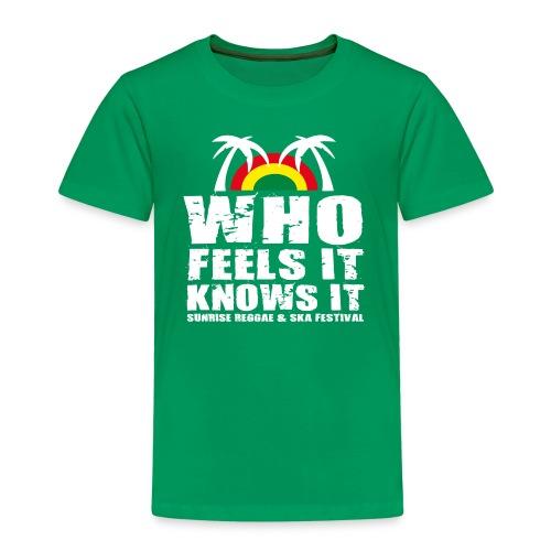 Sunrise Festival Kids Shirt 2015 - Kinder Premium T-Shirt