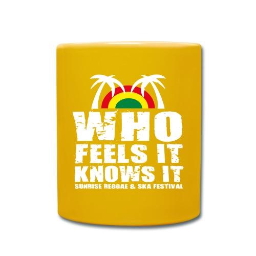 Sunrise Festival CUP 2015 I yellow - Tasse einfarbig