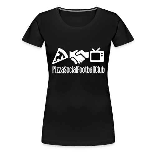 T-shirt F PSFC Grand logo - NoirBlanc - T-shirt Premium Femme