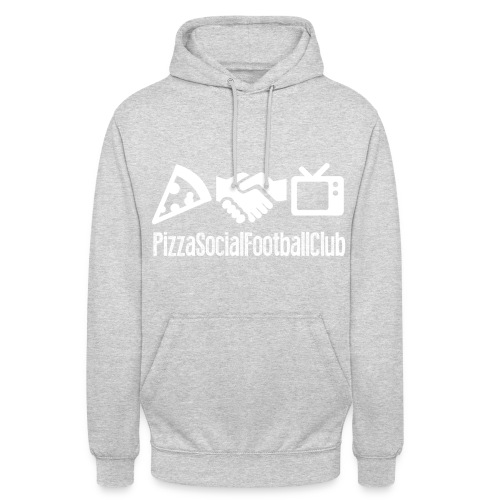 Hoodie Grand logo - Rouge/Blanc - Sweat-shirt à capuche unisexe
