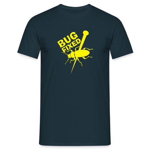 Bugfixed MyphpChat Blue-Yellow - Männer T-Shirt