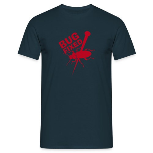 Bugfixed MyphpChat Blue-Red - Männer T-Shirt