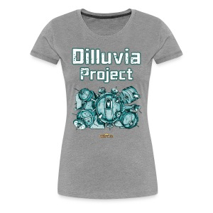 Dilluvia Project - Gebäude-Illustration - Frauen Premium T-Shirt