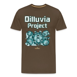 Dilluvia Project - Gebäude-Illustration - Männer Premium T-Shirt