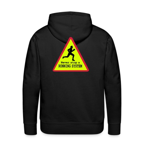 Running System Männer Hoodie - Männer Premium Hoodie