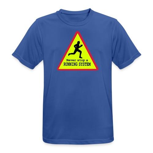 Running System Männer Sport Shirt - Männer T-Shirt atmungsaktiv