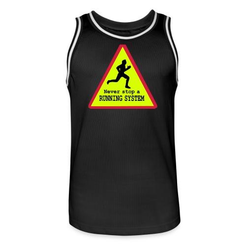 Running System Männer Basketball-Trikot - Männer Basketball-Trikot