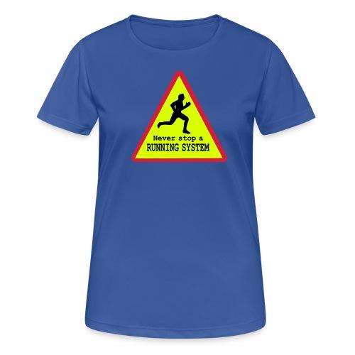 Running System Frauen Sport Shirt - Frauen T-Shirt atmungsaktiv