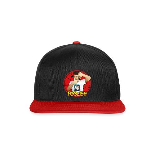 Cappellino Foolish - Red Version - Snapback Cap