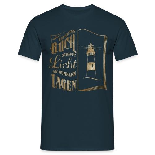 Licht im Dunkeln Herren - Männer T-Shirt