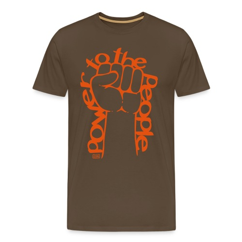 Tee-Shirt homme Power To The People - T-shirt Premium Homme