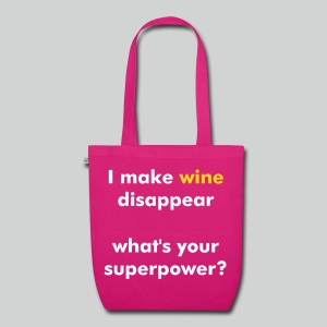 Wine Superpower (mag) - EarthPositive Tote Bag