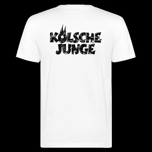 Kölsche Junge (Vintage Schwarz) Bio T-Shirt - Männer Bio-T-Shirt