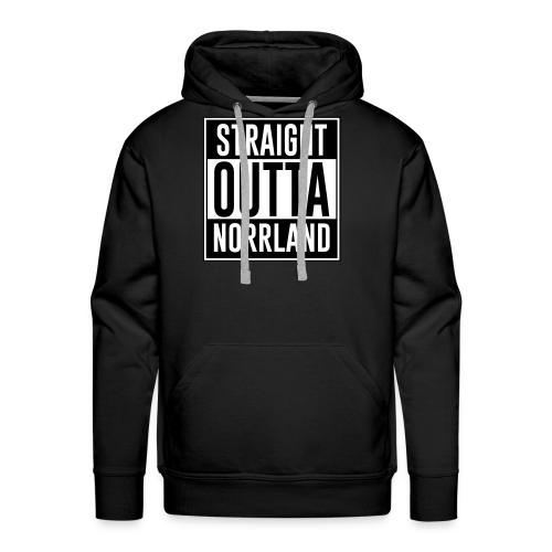 Hoodie Norrland - Premiumluvtröja herr