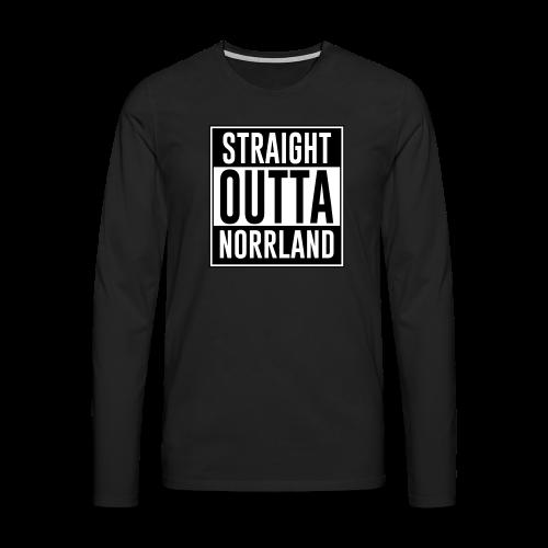 Långärmad T-shirt Norrland - Långärmad premium-T-shirt herr