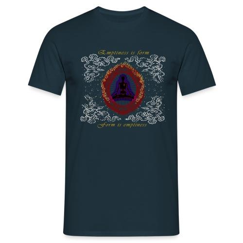 Leere-ist-Form-Herz-Sutra-Deutsch - Männer T-Shirt