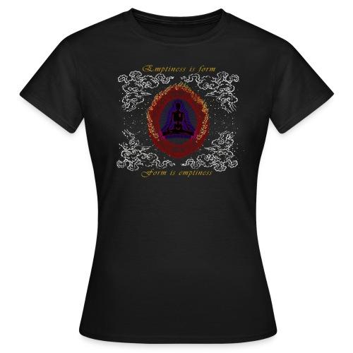 Leere-ist-Form-Herz-Sutra-Deutsch - Frauen T-Shirt