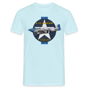 P-51 Mustang - Petie 3rd - T-shirt homme - T-shirt Homme