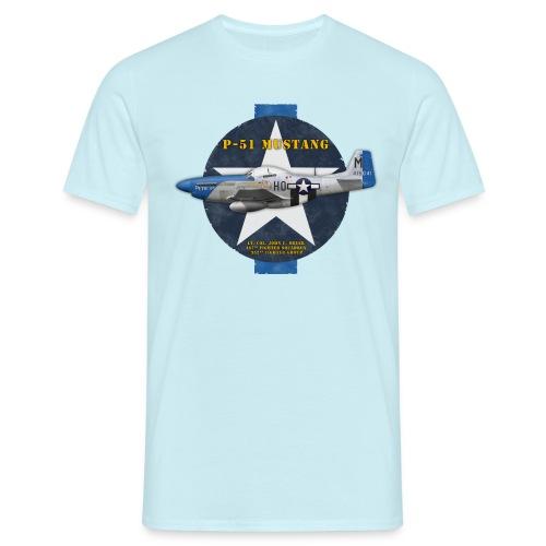P-51D Mustang  Petie 3rd - Man's T-shirt - Men's T-Shirt