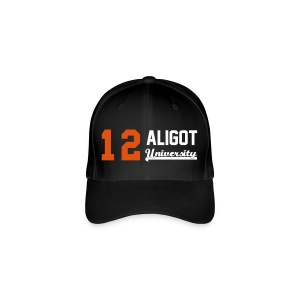 Casquette Flexfit 12 Aligot University Orange & White - Casquette Flexfit