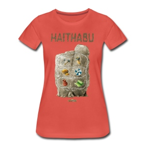 Haithabu - Illustration Waren - Frauen Premium T-Shirt
